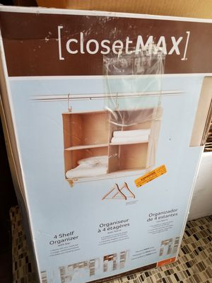 Closet organizer shelf NEW for Sale in Columbus, OH