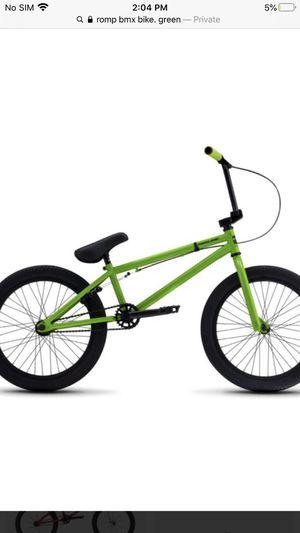Rump bmx bike for Sale in Alexandria, VA