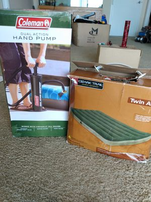 Twin Size Air Mattress with Pump for Sale in Silver Spring, MD