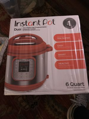 Instant Pot Duo + 4 yr Amazon Warrenty selling on Amazon for $99+ $15 for warranty for Sale in Beaverton, OR