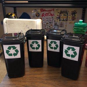 Mini recycling bins for Sale in Choctaw Beach, FL