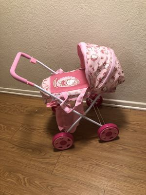 Hello kitty stroller for Sale in Rancho Cucamonga, CA