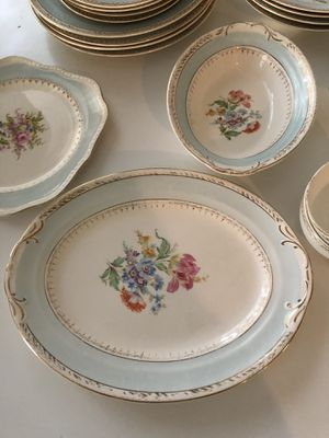 Crown Potteries Co. Antique China Set for Sale in Houston, TX