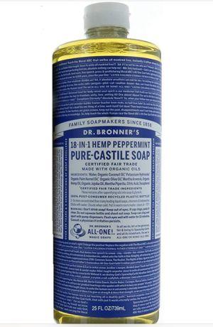 Dr. Bronner's Pure-Castile Liquid Soap - Peppermint 25 oz. for Sale in Dallas, TX