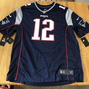Brand new Nike tom Brady New England Patriots football jersey men's XXL 2XL for Sale in El Cajon, CA