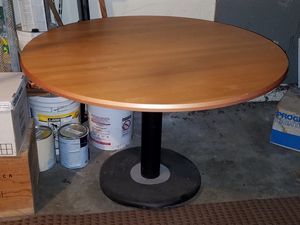 Wooden restaurant table 46 wide x 29 tall for Sale in Seattle, WA