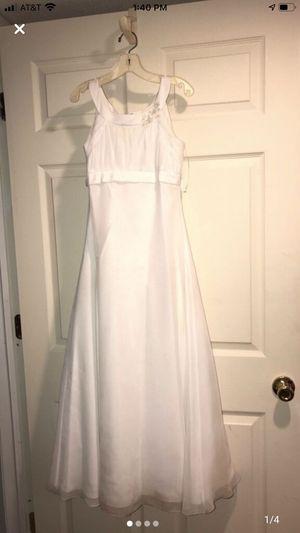 Flower girl dress size 10 for Sale in Westland, MI
