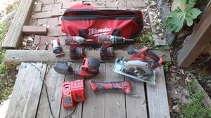 Miluakee Cordless Tool Set (18V) for Sale in Sonora, CA