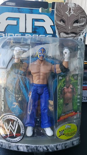 WWE ACTION FIGURE COLLECTIBLE REY MYSTERIO 2006 PICK UP IN WHITTIER for Sale in Whittier, CA