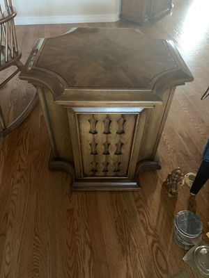 End table with cabinet for Sale in Morrison, CO