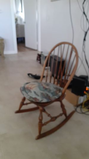 Antique sails themed rocking chair for Sale in Riverside, CA