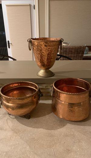 Decorative Copper Pots for Sale in Traverse City, MI