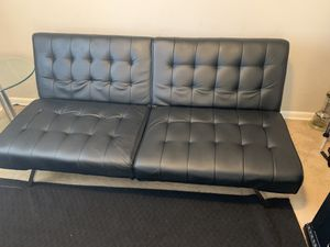 Black futon for Sale in Columbus, OH
