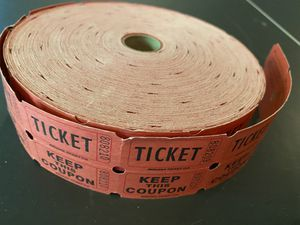 Roll of raffle tickets for Sale in Mechanicsburg, PA