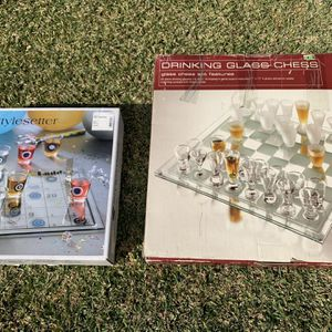 Drinking Games - Chess And Shoots & Ladders for Sale in Whittier, CA