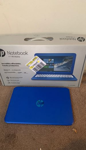 HP Notebook blue for Sale in Bell, CA