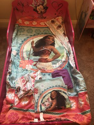 Moana Toddler Bedding for Sale in Oak Point, TX