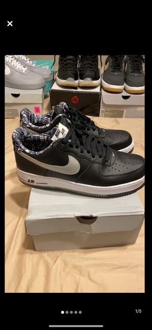 Air Force 1 Black Graffiti for Sale in Wood Dale, IL