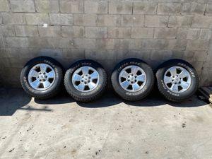 Toyota tacoma rims and tires tacoma for Sale in Chula Vista, CA