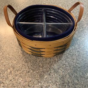 Round Longaberger Basket for Sale in Cranbury Township, NJ
