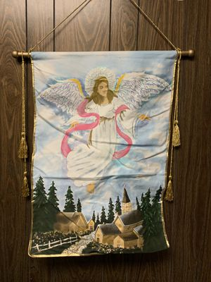 Lighted angel wall hanging for Sale in Artesia, CA