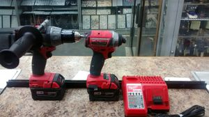 Milwaukee hammer and impact driver set 2604-20 & 2753-20 tools for Sale in New York, NY