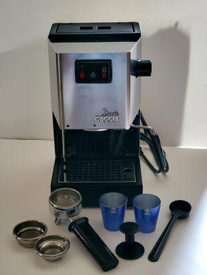 Espresso Machine - GAGGIA Classic (SIN 035) w/ all accessories! for Sale in Virginia Beach, VA