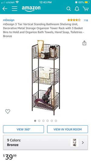 3 Tier standing shelves for Sale in Bakersfield, CA