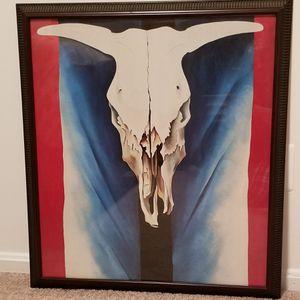 Cow Skull Print for Sale in Fairfax, VA