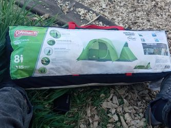 8 Person Coleman Montana Tent. for Sale in Napa,  CA
