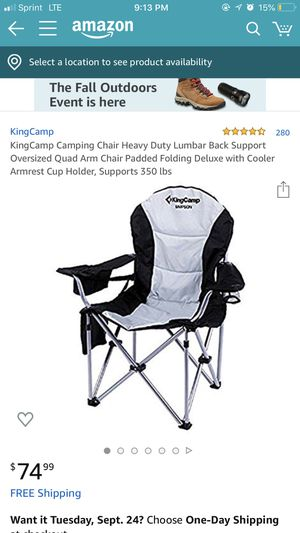 King camp chair for Sale in Los Angeles, CA