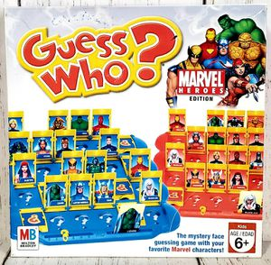 Guess Who? Marvel Heroes Edition Game Milton Bradley 2006 - No Instructions for Sale in Harrisonburg, VA