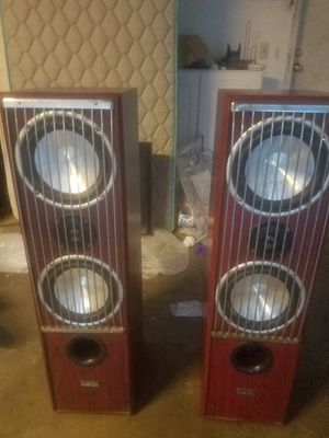 2 digital audio speakers comes as a set $50 OBO only used one time like brand new for Sale in Sacramento, CA