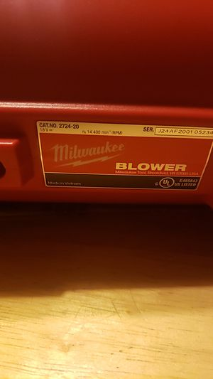 NEW Milwaukee m18 Blower Tool Only for Sale in Moriarty, NM