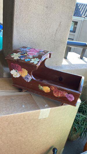 Antique Wooden Rocking Cradle for Dolls for Sale in Irvine, CA