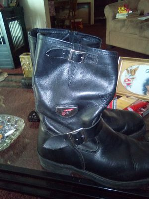 Red wing biker boots for Sale in Vance, AL
