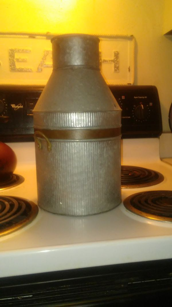 Pewter and Copper Vase....Very Pretty