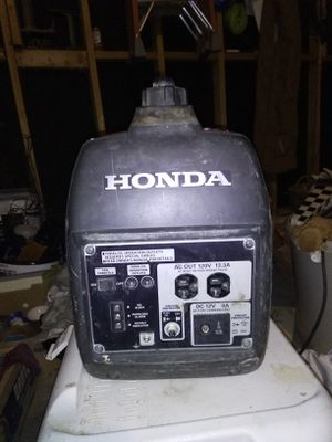 Honda generator for Sale in Wichita, KS