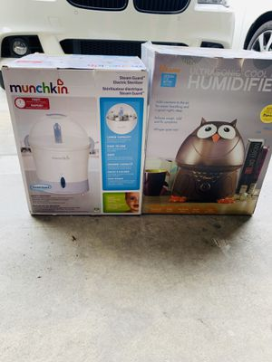 Electric Sterlizer and Humidifier for Sale in Mission Viejo, CA