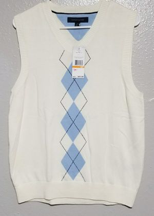 Tommy Hilfiger Mens XL Sweater Vest 100% Cotton NWT for Sale in BETHEL, WA