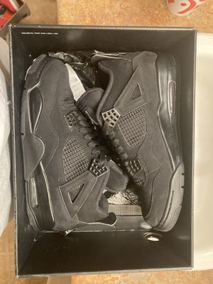 Jordan black cat 4s for Sale in Phoenix, AZ