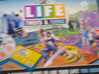The Game Of Life Board Game for Sale in Modesto,  CA