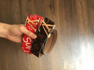Supreme x Louis Vuitton Belts. for Sale in Kissimmee, FL
