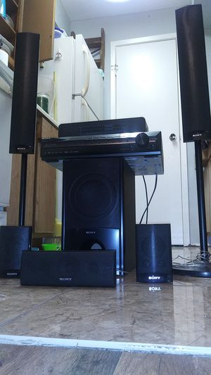 SONY Home theater/surround sound system for Sale in Texas City, TX