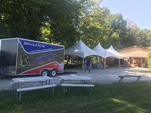 Tents & bouncer for Sale in Carmel, IN