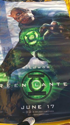 GREEN LANTERN vinyl movie poster for Sale in Billings, MT