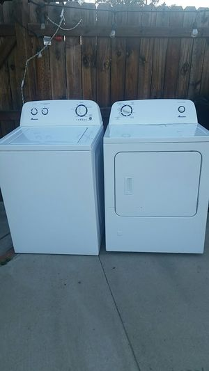 AMANA WASHER AND DRYER for Sale in San Jacinto, CA