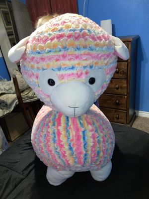 Giant sheep stuffed animal for Sale in Lancaster, CA