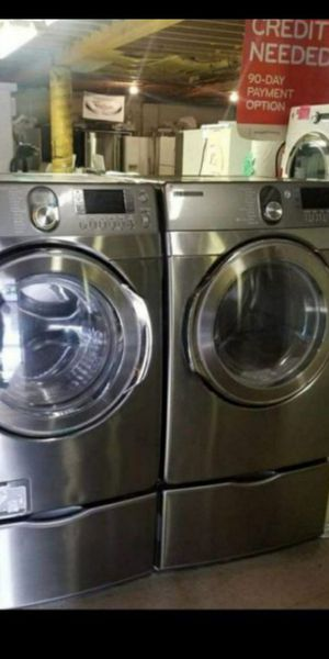 HUGE SALE LIKE NEW!! NICE REFURBISHED REFRIGERATOR ☀WASHER 🌷DRYER🌲 STOVE🌸 STACKABLE🌺 FREE WARRANTY-FINANCING AVAILABLE AND DELIVERY🌲🌼 for Sale in Seattle, WA