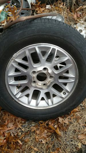 """5- 17"""" jeep 5 lug wheels 4 have center caps for Sale in Ruther Glen, VA"""